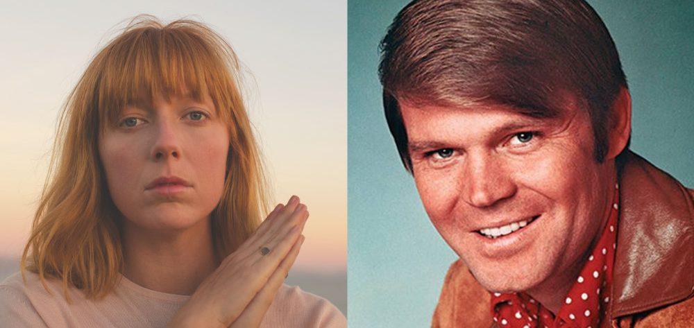 Links Kacey Johansing, rechts Glen Campbell